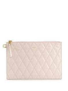Givenchy стеганый клатч