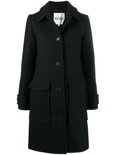 Kenzo single-breasted wool coat