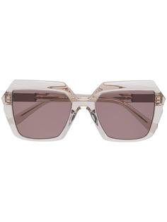 MCM солнцезащитные очки в квадратной оправе