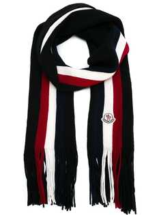 Moncler шарф в полоску