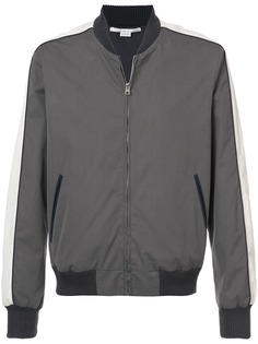 Stella McCartney двухцветная куртка-бомбер на молнии