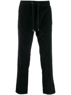Dolce & Gabbana вельветовые спортивные брюки