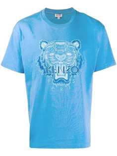 Kenzo футболка с вышивкой Tiger