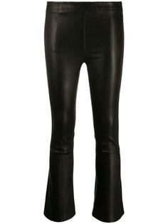 J Brand укороченные брюки средней посадки