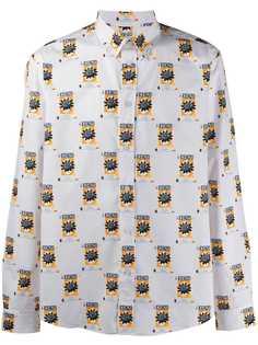 Kenzo рубашка с монограммой