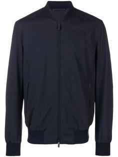 Ermenegildo Zegna куртка-бомбер на молнии