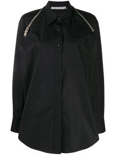 Alexander Wang shoulder zip shirt