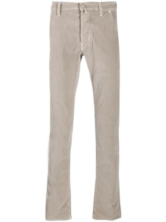 Jacob Cohen вельветовые брюки прямого кроя