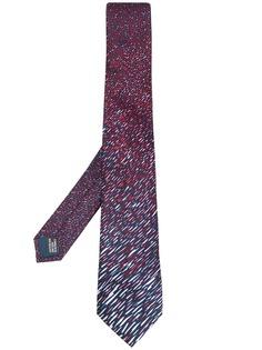 Lanvin галстук с узором
