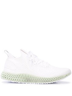 Adidas ADIDAS EF3454 WHITE/GREEN Synthetic->Synthetic Rubber
