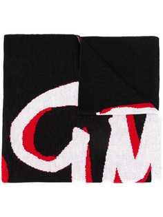 MSGM вязаный шарф