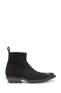 Замшевые ботинки-казаки Balenciaga Man