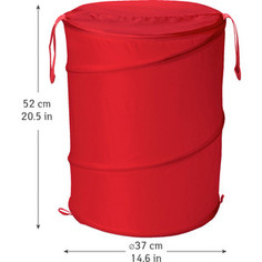 Корзина для белья Art moon PEPPY складная, 57 л, диаметр 37 х 52 см (699430)