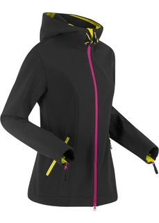 Куртка-софтшелл с капюшоном Bonprix