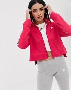 Розовая спортивная куртка adidas Originals Bellista - Розовый