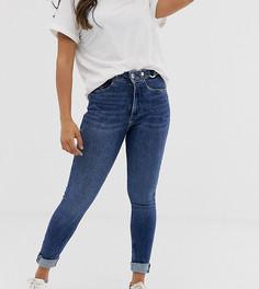 Рваные джинсы скинни River Island Petite - Синий