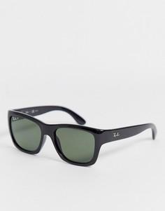 Черные солнцезащитные очки-вайфареры Ray Ban - Черный