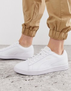 Белые кроссовки Puma smash V2