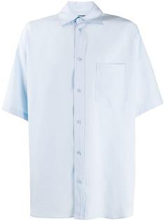 Balenciaga рубашка с короткими рукавами
