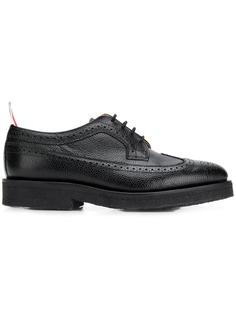 Thom Browne однотонные туфли-броги