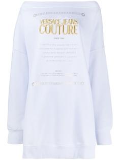 Versace Jeans Couture флисовый джемпер
