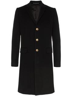 Givenchy однобортное пальто