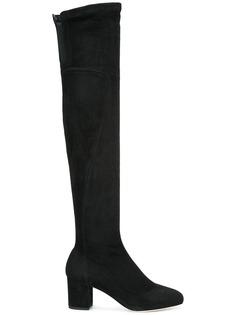 Dolce & Gabbana ботфорты на каблуке