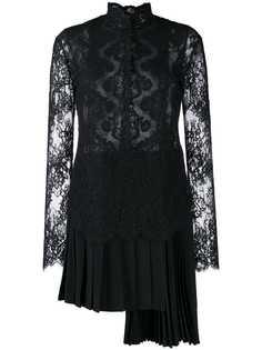 Ermanno Scervino кружевное коктейльное платье