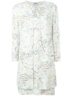 Chanel Pre-Owned платье с накидкой