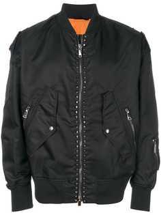 Valentino куртка-бомбер Couture