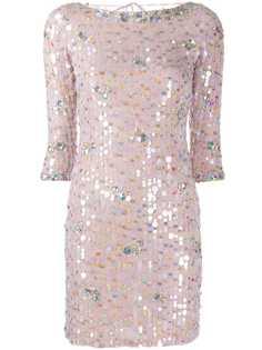 Blumarine коктейльное платье с пайетками