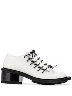 Simone Rocha классические броги на шнуровке