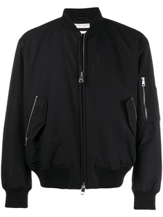 Bottega Veneta твиловая куртка-бомбер