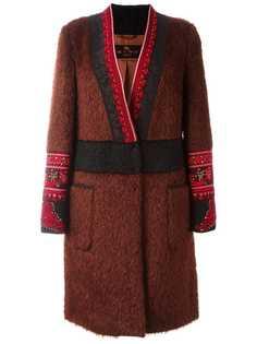 Etro пальто с поясом