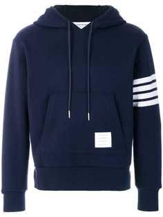 Thom Browne свободный пуловер с полосками