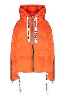 Оранжевая стеганая куртка Khrisjoy
