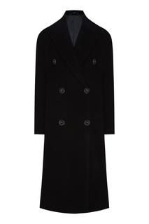 Черное шерстяное пальто Acne Studios