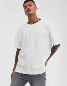 Белая футболка с логотипом HUGO x Liam Payne - Белый