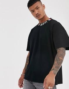 Черная футболка с логотипом HUGO x Liam Payne - Черный