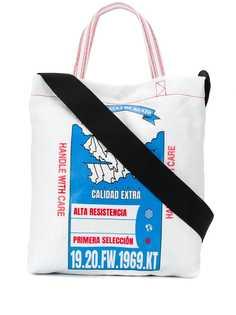 Kenzo сумка-тоут с принтом