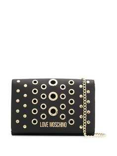 Love Moschino сумка через плечо с люверсами