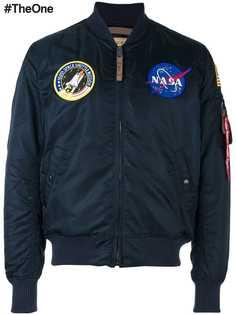 Alpha Industries куртка-бомбер NASA MA-1
