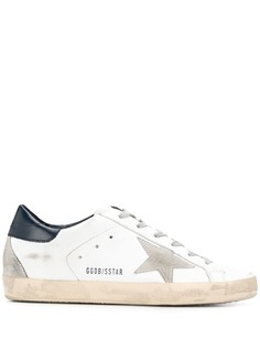 Golden Goose кроссовки на платформе с эффектом потертости