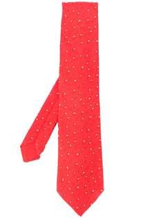Hermès Pre-Owned галстук 2000-х годов с узором
