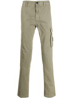 Stone Island брюки карго с нашивкой-логотипом