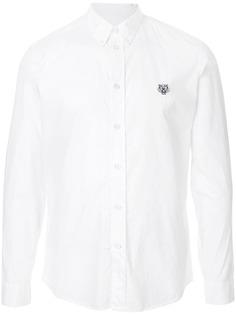 Kenzo рубашка с вышивкой Tiger