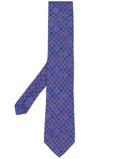 Etro галстук с принтом пейсли