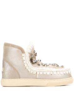 Mou декорированные ботинки Eskimo