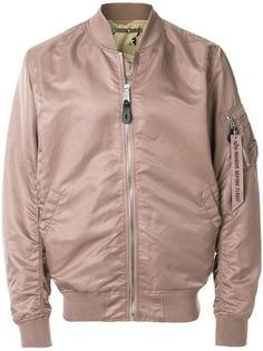 Alpha Industries куртка-бомбер с присборенной отделкой