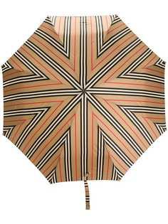 Burberry зонт в полоску Icon Stripe